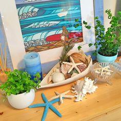 California0809さんの、無印良品,ヘザーブラウン,ダブルティー,fuze candle,棚,のお部屋写真 Beach House Decor, Home Decor, California Style, Sea Shells, Diy And Crafts, Kids Room, Hawaii, Surfing, Interior