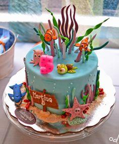 cumpleaños bajo el mar Mermaid Birthday, 5th Birthday Cake, Baby Boy Birthday, 2nd Birthday Parties, Ariel Cake, Ocean Party, Shark Party, Mermaid Under The Sea, Under The Sea Party