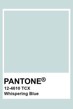 Pantone Whispering Blue