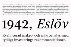 Bedow's linear visual identity for Sweden's leading private bank | Typorn.org