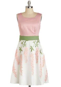 Intro to Organza Chemistry Dress, #ModCloth
