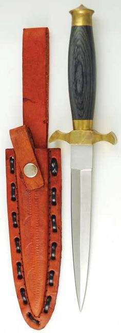 """Featuring the delicate lines and curves this athame features a slender double-edged blade and a black, faux-wood grip. (Can not ship to MA or CA) 10"""" - 5"""" blade."""