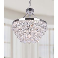 Bathroom Chandelier Lighting Ideas jojo spring 4 light drum chandelier | home - dining room