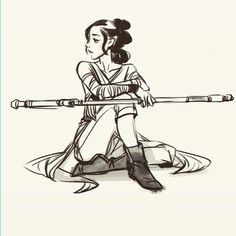 Rey from Star Wars The Force Awakens: