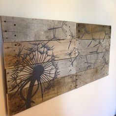 Hey, I found this really awesome Etsy listing at https://www.etsy.com/listing/179507591/dandelionpallet-art21x21-2-pieceblowing