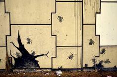 Bardzo ciekawy mural w Gdańsku / Very interesting #mural in #Gdansk