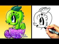 """""""How to draw a dragon"""" - """"How to draw a cartoon dragon"""" - """"How to draw easy cute dragon"""" - """"How to draw dragons"""" More fantasy animal and people drawing instruction vids: http://www.youtube.com/Fun2draw      Watch these AWESOME Fun2draw playlists:    How to Draw Dragons!  http://www.youtube.com/playlist?list=PL6D61D9B57C775F96    How to Draw Fantasy Cha..."""