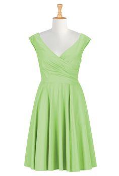 Plus Size Dresses For Special Occasions , Plus Size Retro Dresses Shop womens designer clothes - Dresses: Strapless, Cocktail, Fashion Dresses, | eShakti.com