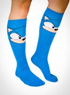 #Sonic Face Knee Socks ($5.99)