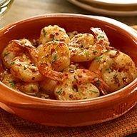 Spanish Garlic Shrimp Andalusian Tapas Recipe with Garlic