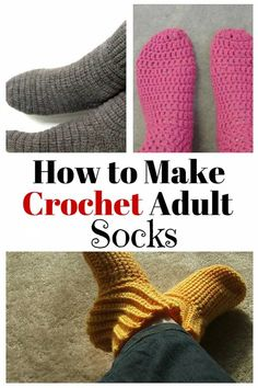 966871e3610db 686s Keep feet warm and comfy during the colder months with these crochet  adult socks.