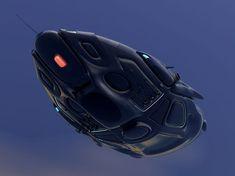 phaelon deep space transport 3d model obj mtl 8