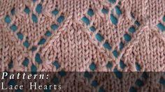 Pattern     Lace Hearts (+playlist)