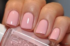 ~ Marabou perfect color for a wedding day! Marabou by Essie! The Beauty Thesisperfect color for a wedding day! Marabou by Essie! The Beauty Thesis Love Nails, Pink Nails, How To Do Nails, Pretty Nails, My Nails, Essie Nail Polish, Nail Polish Colors, Manicure And Pedicure, Pedicures