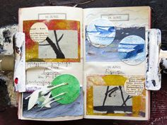 mano kellner, daily project a collage a day, gustavs agenda, Journal, Collage, April, Artist, Artist Books, Gustav