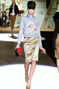 Dsquared² Fall 2012 Ready-to-Wear Collection Slideshow on Style.com