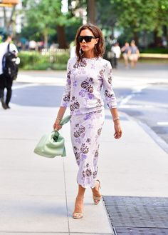 Victoria Beckham Wore a Purple Wedding Dress You Might Not Remember