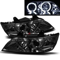 96-02 BMW Z3 Halo Projector Headlights - Smoke