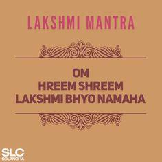 Then you should turn to the Lakshmi mantra! Vedic Mantras, Yoga Mantras, Hindu Mantras, Most Powerful Mantra, Om Gam Ganapataye Namaha, Indian Paintings, Abstract Paintings, Art Paintings, Sanskrit Language