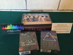 Pink Floyd Merchandise, Playing Cards, Cover, Books, Libros, Playing Card Games, Book, Book Illustrations, Game Cards