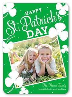 Cheer And Luck St. Patrick's Day Card