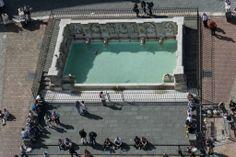 Fonte Gaia dalla Torre del Mangia - Foto di jzhong3 su https://www.flickr.com/photos/100000240@N06/14215962300/lightbox/ - #Siena #PiazzaDelCampo #FonteGaia #TorreDelMangia