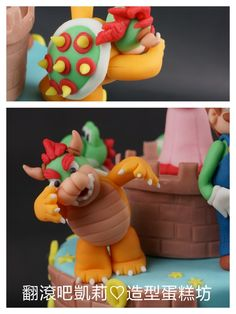 https://www.facebook.com/RollRollKelly #Mario cake