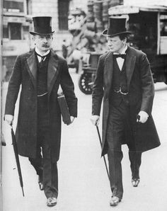 Lloyd George and Churchill passed the 1909 People's Budget, aimed at the redistribution of wealth.