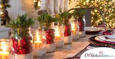 Wieso Orangen, Zimt und Tannenzapfen auf den Weihnachtstisch gehören? Das alles und mehr erfährst du unter den besten DIY TischdekoIdeen zu Weihnachten! Welche sind