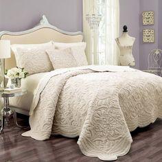 Vue Signature Plush Decor Charlotte 3 Piece Coverlet Set - Bedding and Bedding Sets at Hayneedle
