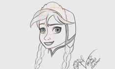 Learn How To Draw 'Frozen's' Anna at Disney's Hollywood Studios