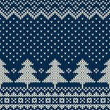 Winter Holiday Seamless Knitting Pattern With A Christmas Tree Stock Vector - Illustration of fairisle, craft: 46173450 Fair Isle Knitting Patterns, Fair Isle Pattern, Knitting Stitches, Knitting Designs, Knit Patterns, Knitting Ideas, Christmas Tree Pattern, Christmas Tree Ornaments, Christmas Crafts