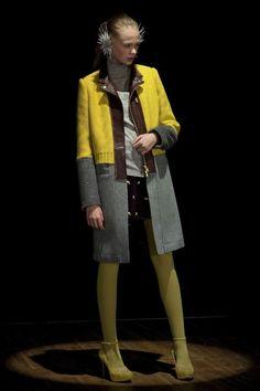 UNDERCOVER2012-13 Autumn Winter Idea for repurposing sweater.
