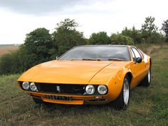 After the Cobra came the Mongoose. | DeTomaso Mangusta