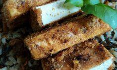 Grilované tofu marinované v kořeněné omáčce