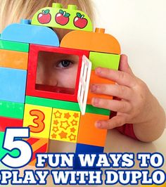 5 {MORE} Ways to Play & Learn with LEGO DUPLO from Childhood 101