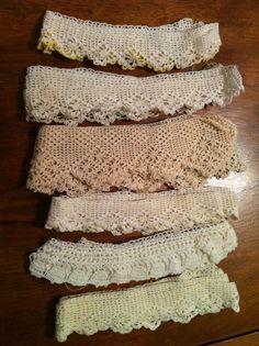 Vintage Crochet Edgings