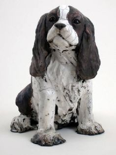 Artist: Ronnie Gould, Title: Cavalier King Charles Spaniel - click on image to enlarge