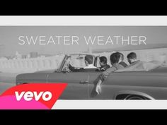 """""""Sweater Weather"""" by The Neighbourhood. Have you heard of The Neighbourhood yet? If not, you will soon. Their unique sound and old-styled vibe is sure to catch your attention. Check them out here: http://culturizeme.com/post/56454116921/if-you-like-the-1975-youngblood-hawke-bastille#notes"""