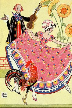 by Joyce Mercer (1896-1965), who brought Art Deco styling to her children's illustrations.