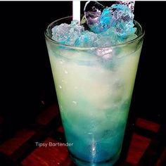 Sea of Feelings Cocktail - For more delicious recipes and drinks, visit us here: www.tipsybartender.com