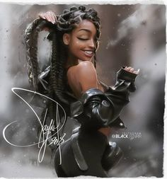 Hello everyone!, I wish you a happy holiday season and a good 🎄🎆🎉🎁 Art Illustratio Sexy Black Art, Black Love Art, Black Girl Art, Black Is Beautiful, Black Girl Magic, Black Girls, Black Girl Cartoon, Black Art Pictures, Black Artwork