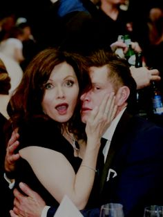 Nathan Page and Essie Davis killing all of us at the 2016 Logies