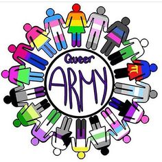 Fear the Queer Army. XD