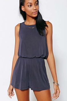 Silence + Noise Two Twisted Romper in Size Medium - Urban Outfitters, $59.00