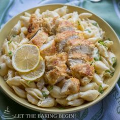 Chicken Tenders w/ Creamy Garlic Pasta Shells January 16, 2015 By: Marina | Let the Baking Begin5 Comments