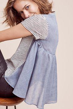 Back peplum/skirt