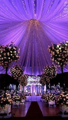 Must have my wedding there!  I love the lighting and drapery