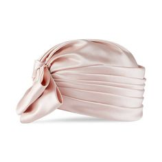 Gucci Silk Satin Turban With Bow (21.420 ARS) ❤ liked on Polyvore featuring accessories, nude and gucci