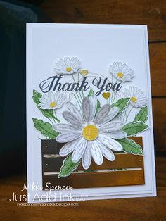 My Sandbox: Just Add Ink #364...Inspiration! Stampin' Up! Daisy Delight bundle, Wood Crate Framelits, Copper Foil cardstock, Metallic Copper thread http://nikkispencer-mysandbox.blogspot.com/2017/06/just-add-ink-364inspiration.html?utm_source=feedburner